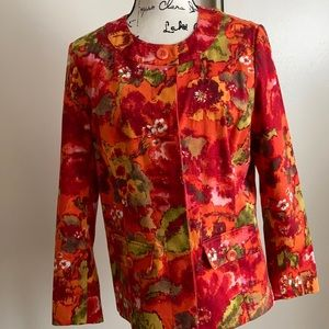 Chico's woman's jacket in an one (8).